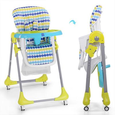 Детский стульчик для кормления Bambi Салатовый (M 3233-10)