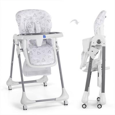 Детский стульчик для кормления Bambi Серый (M 3233-13)