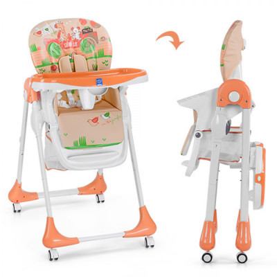 Стульчик для кормления Bambi Оранжевый (M 3234-5)