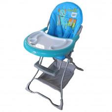 Стульчик для кормления Baby Tilly Monsters T-632 Blue