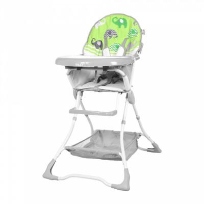 Детский стульчик для кормления TILLY Buddy T-633 Green Elephants