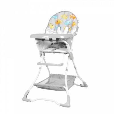Детский стульчик для кормления TILLY Buddy T-633 Grey Fishes