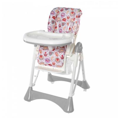 Стульчик для кормления Baby Tilly Bistro (T-641 Grey)