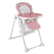 Стульчик для кормления Toti, ремни безопасности, W-92005, розовый