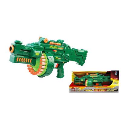 """Детский игрушечный бластер """"Hot Wheel"""" с мягкими пулями Blaze Storm (7001)"""