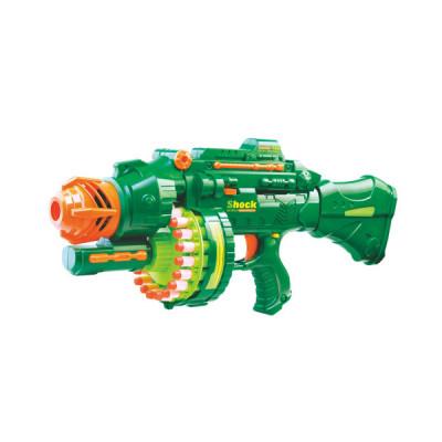 """Детский игрушечный бластер """"Hot Wheel"""" с мягкими пулями Blaze Storm (7002)"""