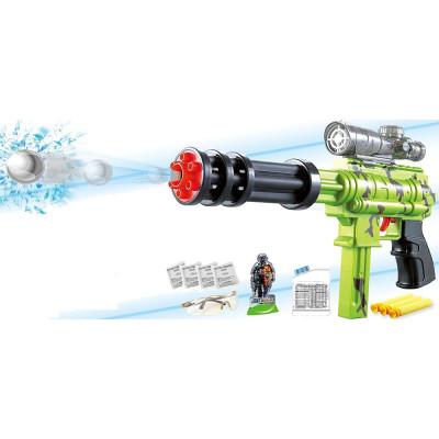 Игрушка автомат с гидрогелевыми пулями ТМ Gatlin, имеет 2 режима (SB211)