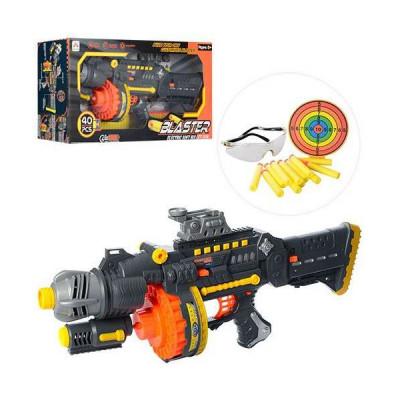 Игрушка автомат Blaster с пулями-присосками 40 шт (SB400)