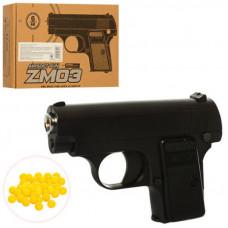 Пистолет металлический ZM03 пластиковые пули 6 мм