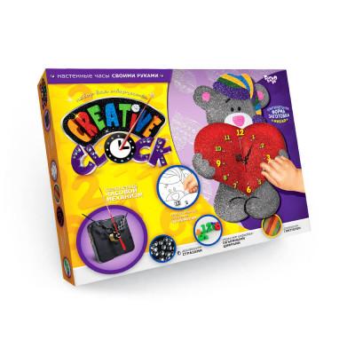 Набор для творчества Часы Creative clock Тедди Danko toys (СС-01-03)