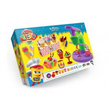 """Тісто для ліпки Danko Toys Master Do """"Фабрика морозива"""""""