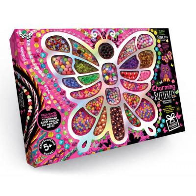 Набор для творчества поделки из бисера Charming Butterfly Danko toys (CHB-01-01)