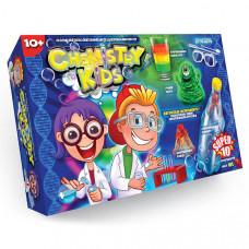 Набор для опытов по химии Danko toys Chemistry Kids Super 10