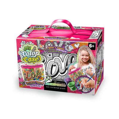 Набор для творчества косметичка-раскраска MY COLOR CASE Danko toys (COC-01-04)