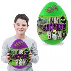 """Набор для творчества """"Dino Surprise Box"""" Danko Toys (Зеленый, фиолетовый)"""