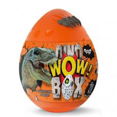 """Набор креативного творчества """"Dino WOW Box"""" Danko Toys (Оранжевый)"""