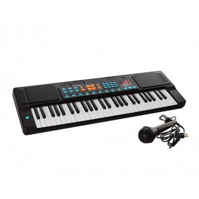 Синтезатор: 54 клавиши, микрофон, запись, муз, USB шнур, от сети (HS5460A (Х))
