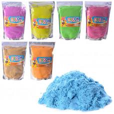 Кинетический песок для творчества, 7 цветов: 1000 грамм и 500 грамм