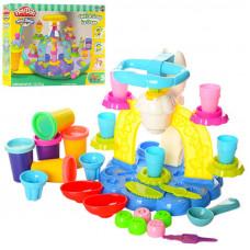 Набор для лепки из пластилина Фабрика мороженого (аналог Play Doh) MK 1527