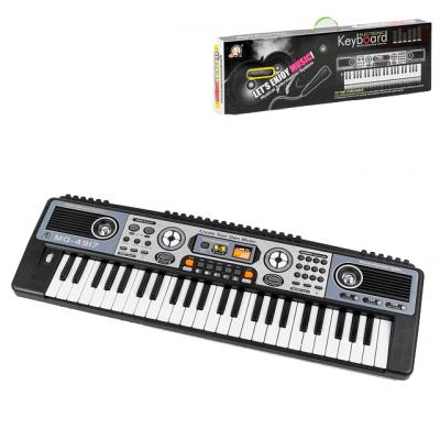 Синтезатор детский с микрофоном MQ-4917 - 49 клавиш, 220В (MQ 4917)