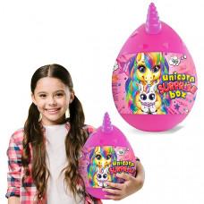 "Набор для творчества ""Unicorn Surprise Box"" Danko Toys (Розовый, желтый)"