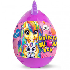"""Набор креативного творчества """"Unicorn WOW Box"""" Danko Toys (Розовый)"""