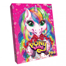Набор для творчества Danko Toys Pony Land 7в1